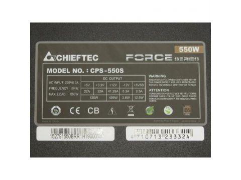 Блок питания CHIEFTEC 550W (CPS-550S) Киев