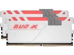 Модуль памяти DDR4 2x8GB/2400 Geil EVO X White RGB LED (GEXG416GB2400C16DC)
