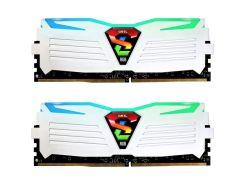 Оперативная память GEIL DDR4 2400MHz 16GB (2x8GB) Super Luce White RGB LE (GLWC416GB2400C16DC)