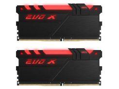 Оперативная память GEIL DDR4 3200MHz 16GB (2x8GB) Evo X RGB (GEXB416GB3200C16ADC)