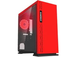 Корпус GAMEMAX H605 Expedition Red no PSU (EXPEDITION RD)