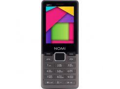 Мобильный телефон Nomi i241 Plus (Metal Dark Grey)