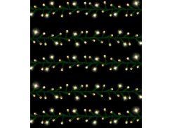 Светодиодная гирлянда Triumph tree желтая 6,5 м (8712799741959)