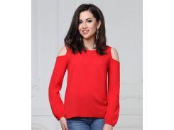 Блуза 48р красная