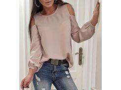 Блуза 48р капучино