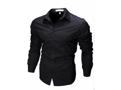 Рубашка мужская рМ черная