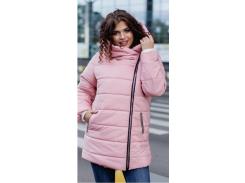 Куртка зимняя батал NB0004 р56/58 розовая