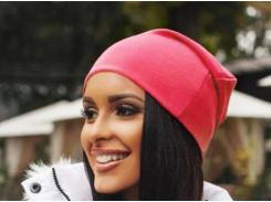 Трикотажная шапка One Size красная