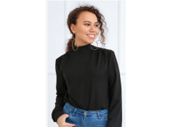 Блуза с бантом GF406 р46/48 черная