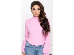 Блуза с бантом GF406 р46/48 розовая