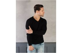 Мужской свитер ST30002 рL черный