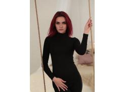 Женский гольф Fashion Woman GF000415 р42/44 черный