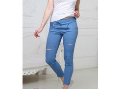 Женские брюки Fashion Woman GF000150 р48 джинс
