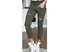 Женские брюки Fashion Woman GF000150 р42 хаки