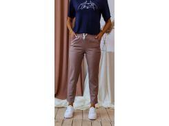 Женские брюки Fashion Woman NB20032 мокко р48