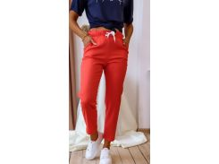 Женские брюки Fashion Woman NB20032 морковный р48