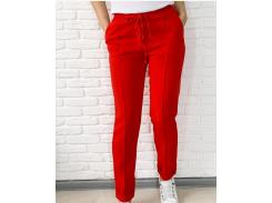 Женские брюки Fashion Woman GF000140  красные р48
