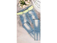 Женские джинсы Fashion Woman KS434520 голубые р42