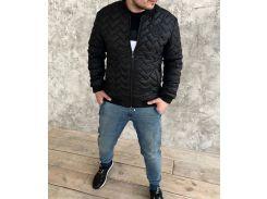 Мужская куртка Fashion Man DR13365 черная р52