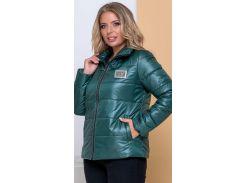 Женская демисезонная куртка NB20040 р52 бутылка