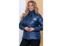 Женская демисезонная куртка NB20040 р56 синий