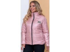 Женская демисезонная куртка NB20040 р50 пудра