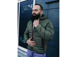 Мужская демисезонная куртка BD3585 рS хаки