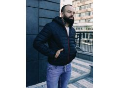 Мужская демисезонная куртка BD3585 рL черная