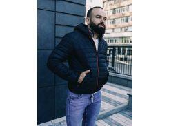 Мужская демисезонная куртка BD3585 рXL черная