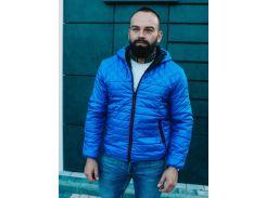Мужская демисезонная куртка BD3585 рXL электрик