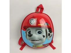 Детский рюкзак Веселые щенята красный