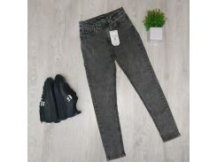 Женские стрейчевые джинсы BJ006 р29 серые