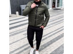 Мужская демисезонная куртка Асос FD1708 рL хаки