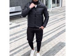 Мужская демисезонная куртка Асос FD1708 рM черная