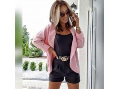 Женский пиджак  UK0309 р42/46 розовый