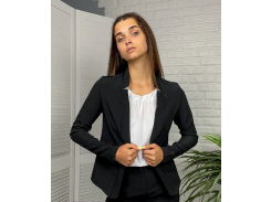 Женский пиджак приталенный GF71322 р44 черный