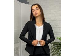 Женский пиджак приталенный GF71322 р48 черный