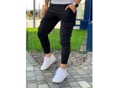 Мужские спортивные штаны DS0004 рS черные