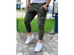 Мужские спортивные штаны DS0004 рS хаки