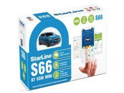 Автосигнализация StarLine S66 BT 2CAN+2LIN GSM MINI