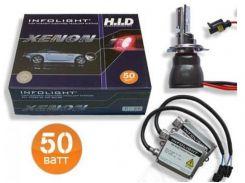 Комплект биксенона Infolight H4 H/L 4200K 50W