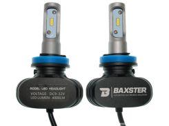 LED лампы Baxster S1 H8-H11 5000K 4000Lm (2 шт)