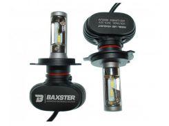 LED лампы Baxster S1 H4 H/L 6000K 4000Lm (2 шт)