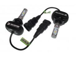 LED лампы Baxster S1 HB4 (9006) 6000K 4000Lm (2 шт)