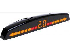 Парковочный радар AMS A8191-0 Black