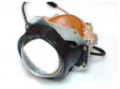 LED Линзы биксеноновые BLUELIGHT CR12 black