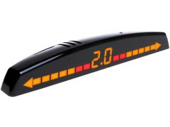 Парковочный радар AMS A8191 V2 Black