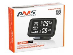 Парковочный радар AMS A8192 Black