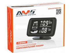 Парковочный радар AMS A8192 Silver