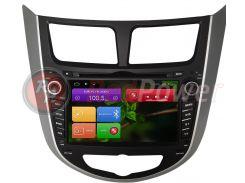 Штатная магнитола RedPower 21067 Hyundai Accent RB, HB Android 4